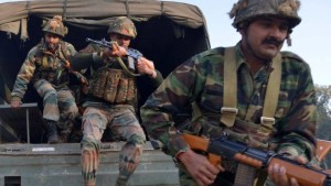 Indian forces have been searching the base for remnants of the group that attacked it