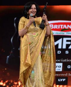 Moushumi Chatterjee won the Lifetime Achievement award.
