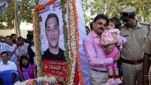 NSG Lt-Col Niranjan Kumar was killed in a grenade explosion from a booby trapped militant's body